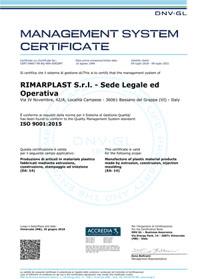 CERTIFICATO_CERT-04807-99-AQ-VEN-SINCERT_RIMARPLAST_S.R.L